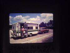 Slide Florida Rest Area Stop truck people RV Camper station wagon Winnebago