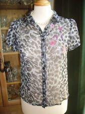 TopShop Women's Animal Print Tops & Shirts