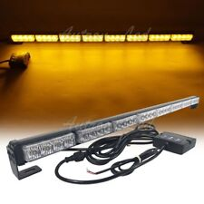 "34"" Inch LED Amber Emergency Traffic Adviser Directional Arrow Strobe Light Bar"