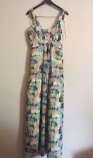 Jessica Simpson Maternity Dress XL Floor Length Summer Maxi