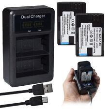LP-E6 Batería para Canon EOS 6D 60D 7D 70D 5D Mark DSLR/LCD Dual II III Cargador