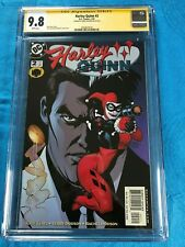 Harley Quinn #2 (2000) - DC - CGC SS 9.8 NM/MT - Signed by Terry Dodson