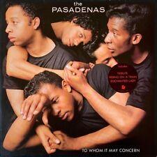 The Pasadenas - To Whom It May Concern (LP) (VG-/VG-) (1)