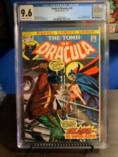 TOMB OF DRACULA 10 CGC 9.6 W/OW PAGES 1ST APP OF BLADE NEVER PRESSED