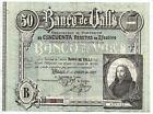 Alfonso XIII Bank Valls (Tarragona) 50 Pesetas 1931 1 January 1922 @ S. C. @