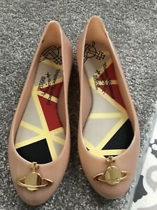 Vivienne Westwood Melissa Nude Jelly Shoes Size 37