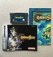 Golden Sun: The Lost Age (Nintendo Game Boy Advance, 2003) Cart, Manual and Map