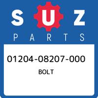 01204-08207-000 Suzuki Bolt 0120408207000, New Genuine OEM Part