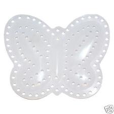 1 Pieza, 3d Mariposa en forma de 7 de malla de lona plástica, 5,2 Cm X 6,7 cm