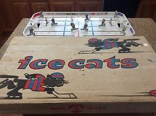 Bock Plast Table Hockey Game Late 1960's Canada Vs Sweden - Coleco,Munro,Eagle