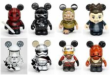 Disney Vinylmation Star Wars Force Awakens Series 2 Complete Set of 8 w/ CHASER