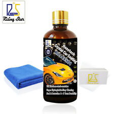 Car Glass Coating Nano Liquid Ceramic Hardness Anti Scratch Double Care Ceramic