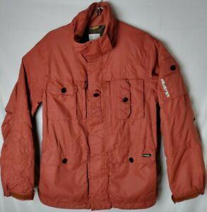 Burton Field Jacket Mens Size S Snowboard Ski Jacket Orange