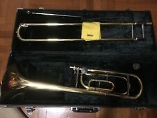 Trombone a coulisse pro vintage Yamaha YSL684 con ritorta SIb/Fa del 1991