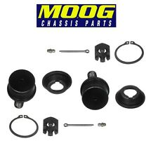 Ford F350 RWD Pair Set of Front Lower Standard Press-in Type Ball Joints MOOG