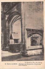 Eglise de Brou - Oratoire de Marguerite d' Autriche et le pupitre