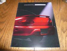 1993 Mitsubishi Mirage Sales Brochure