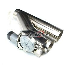 "3"" EXHAUST CATBACK TURBO ELECTRIC E CUTOUT VER 2 W/ REMOTE UNIVERSAL PERFORMANCE"