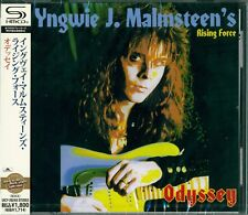 YNGWIE MALMSTEEN ODYSSEY SHM CD - JAPAN RMST 2012 - Joe Lynn Turner on Vox
