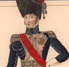 Louis Bonaparte Napoléon Premier Empire Corse Roi de Hollande Pays Bas 1846