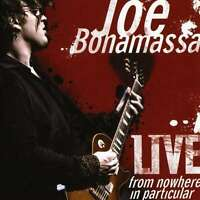 2 CD (NEU!) . JOE BONAMASSA - Live from nowhere in particular (2008 mkmbh