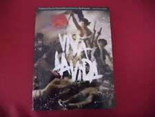 Coldplay - Viva la vida . Songbook Piano Vocal Guitar PVG
