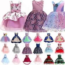 Flower Girls Kids Princess Dress for Party Formal Wedding Bridesmaid Tutu Dress