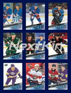 2020-21 UD Upper Deck SERIES 1 & 2 YOUNG GUNS & YG CANVAS + Extended **U PICK**