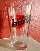 Dallas Deep Ellum Brewery Beer Glass Taproom Souvenir