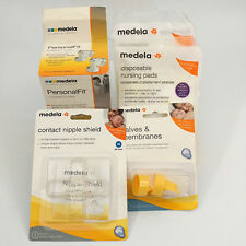 Medela Breasfeeding Supplies Nipple Cover Valves Nursing Pads Connectors NEW