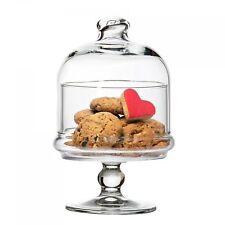 PASABAHCE 96386 Mini une pâtisserie avec hotte, Hauteur env. 19 cm, 2 pièces en verre