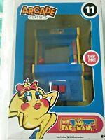 Basic Fun MS.PAC-MAN #11 Mini Arcade Classics Handheld Game  *IN COLOR*   *MIB*