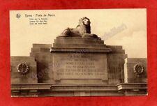 cpa YPRES - Porte de Menin - Lion sur le frontal