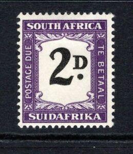 South Africa 1948-49 Postage Due 2d Black & Violet SGD36 M/Mint