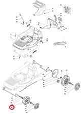 Mountfield M64 PD Petrol Lawnmower Front Wheel Assembly 381007351/0 2010