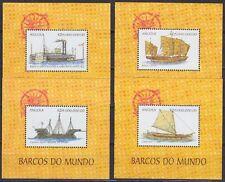 Angola 1999 Block 60-63 ** MNH Schiffe Ships