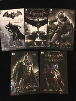 NEW DC Comics Batman TPB Lot ARKHAM KNIGHT vol 1 2 3 + CITY GENESIS Tomasi Dini