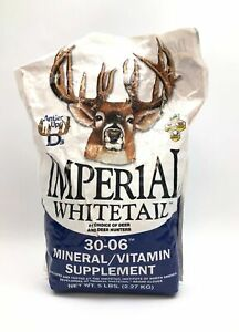 Imperial Whitetail 30-06 Mineral/Vitamin Deer Supplement 5 lbs NEW