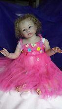 Reborn doll baby girl toddler Gabriella by Regina Swialkowski