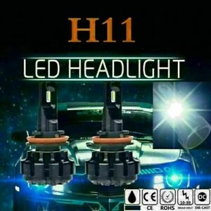 H8/H9/H11 6000K LED Headlight Conversion Kit Bulbs Fog Light Lamp Head Beam
