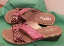 LIZA Leather Ladies comfort cushion insole slip ons SIZE 40 (9) rrp $64 NEW.