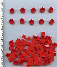 LEGO x 100 Red Panel 1 x 1 x 1 Corner NEW bulk lot 6231
