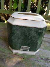 Croscill Cararra Porcelain Ware Sage Green Tissue Cover