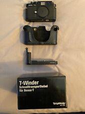 Voigtländer Bessa R2A Rangefinder Film Camera Body + Matching Trigger Winder