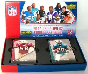 Upper Deck 2007 NFL PLAYERS ROOKIE PREMIER Trading Cards