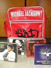 "Michael Jackson ""Whos Bad"" Red Vinyl Excellent Condition! +9 Mj Cds & 5 J.J Cds!"
