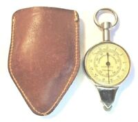 Vintage Hoffritz Map Plan or Curve Measure Two Sided with Leather Case WORKS!
