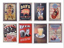 Blechschild Schilder 30x20cm Retro Nostalgie Pinup Geschenk Party Keller Vintage
