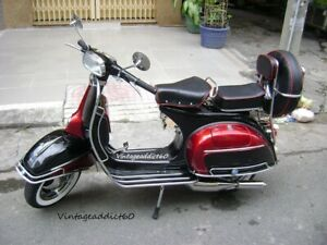 1966's vintage Vespa VLB Sprint 150 Fully Restored BUY IT NOW get Free Shipping.