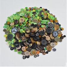 600pcs Lot Mix Size DIY 4 Holes Round Resin Buttons Scrapbooking Sewing Craft